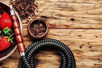 Kalian with tobacco