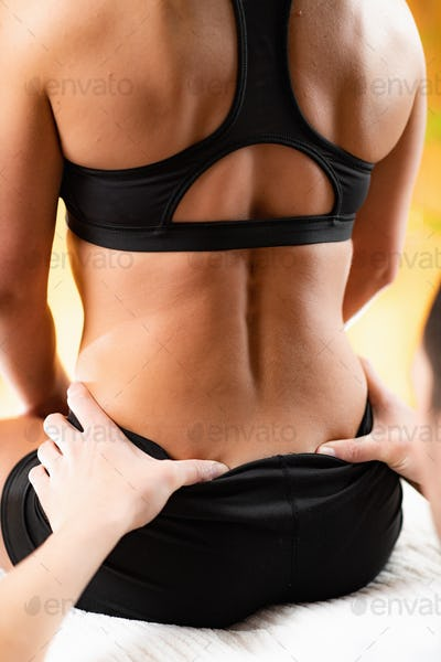 Osteopathy Treatment for Lower Back.