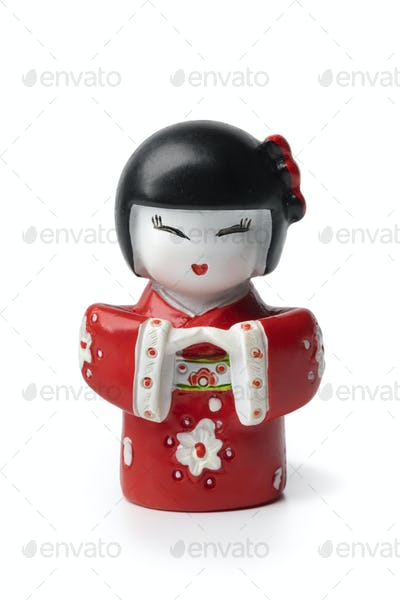 Modern Japanese kokeshi doll