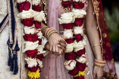 Detail shot from Indian Hindu wedding.