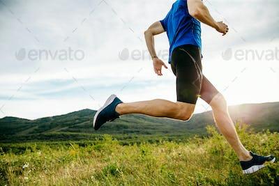 athlete runner run