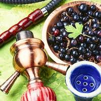 Arabia shisha with currant tobacco
