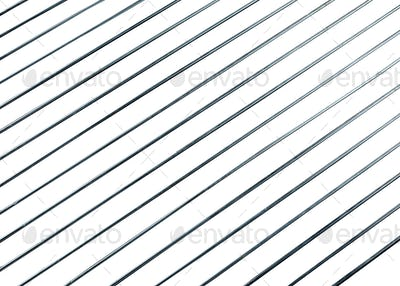 steel grating isolated on white background