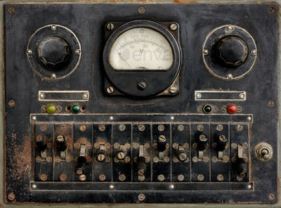 Very old control panel