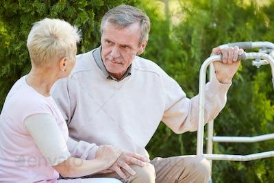 Talking to Rehabilitation Therapist