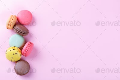 French cookies Macaron