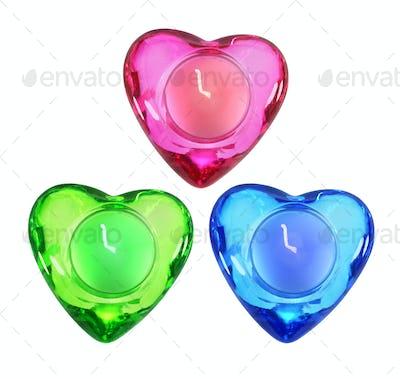 Heart Shape Candles
