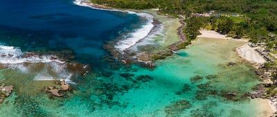 Eton Beach, Efate Island, Vanuatu, near Port Vila - famous beach