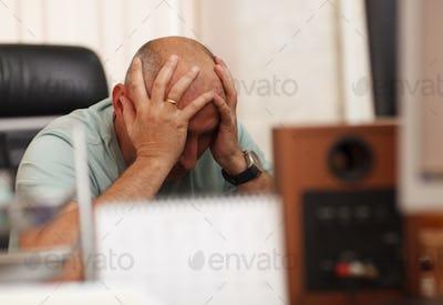 Problems at work or headache