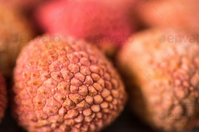 Fresh lychee background