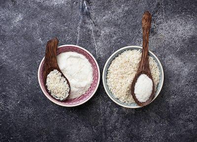 Gluten free rice flour