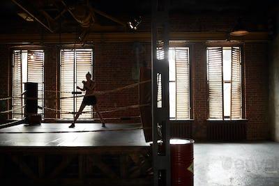 Tough Woman Training Alone
