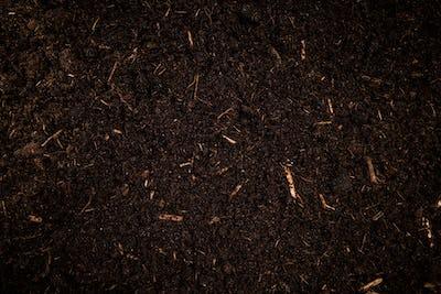 Garden Soil , Dark Cultivated Turf Soil , Gardening and Farming