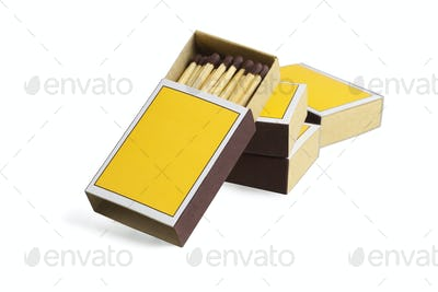 Four Match Boxes