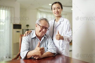 Good quality of medical treatment