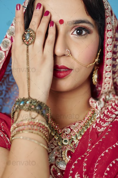 Beauty of Indian woman