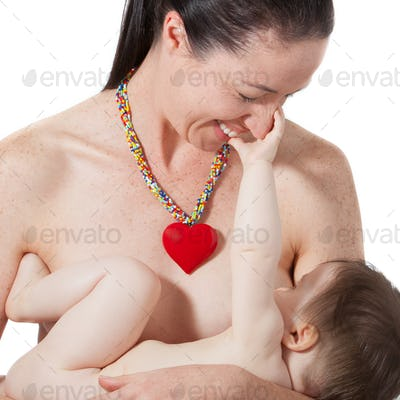 Mother Breast Feeding