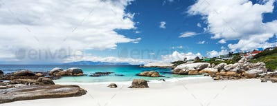 Beautiful Boulders beach landscape