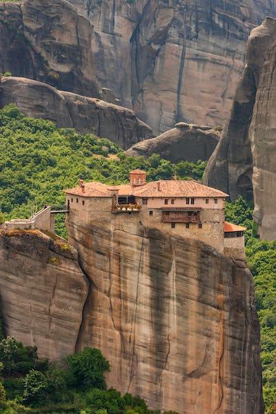 Holy Monastery of Rousanou in Meteora