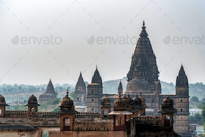 Chaturbhuj Temple in Orchha, India