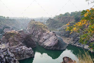 Beautiful Indian landscape with Raneh fall