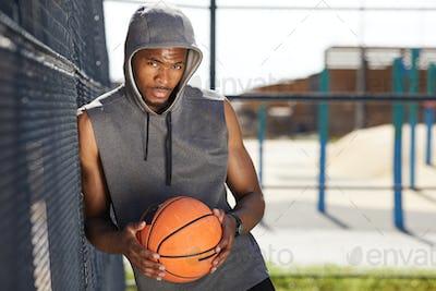 African Basketball Player