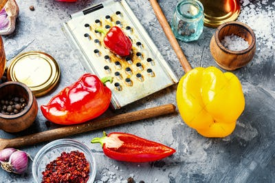 Pickling or canning pepper