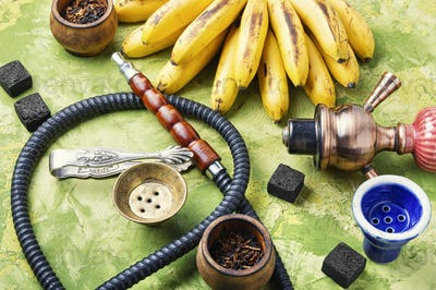 Eastern kalian with banana taste