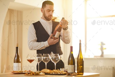 Sommelier Choosing Wine