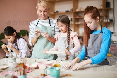 Pottery Class for Children