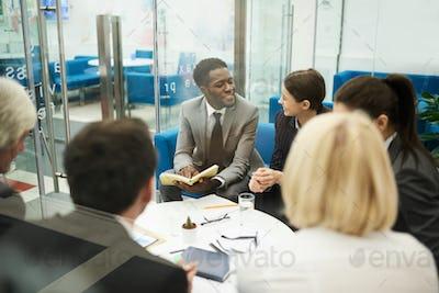Multi-ethnic Business Meeting