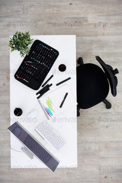 Modern Workplace of Designer