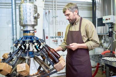 Machine Operator at Modern Brewery