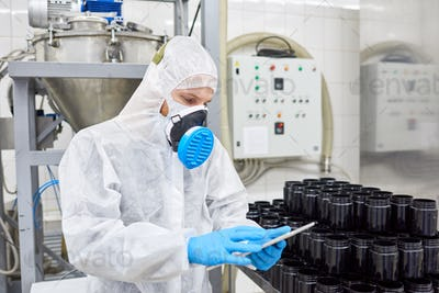 Taking Inventory in Pharmaceutical Factory