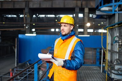 Carrying out Inventory at Modern Plant