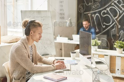 Creative workspace for talented staff