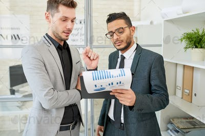 Showing Statistic Data to Colleague