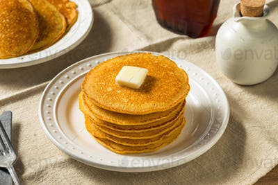 Homemade Corn Meal Johnny Cakes