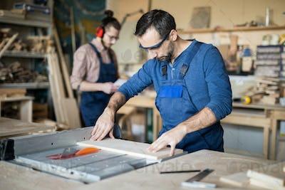 Carpenters Making Furniture