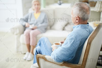 Pensioners at home