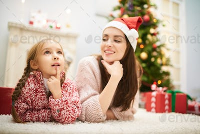 Thinking over Letter to Santa Claus