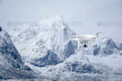Drone with digital camera