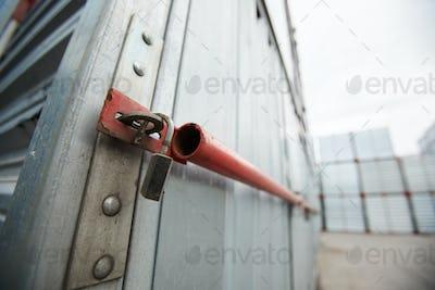 Sealed cargo container