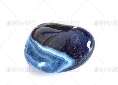 blue agate in studio
