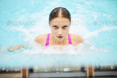 Girl in stream