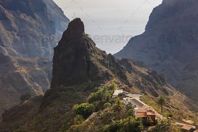 Masca village. Tenerife, Spain