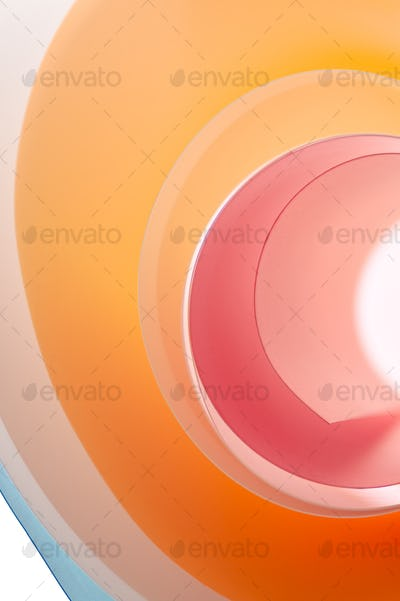 Background from the multi-colored rounded elements.