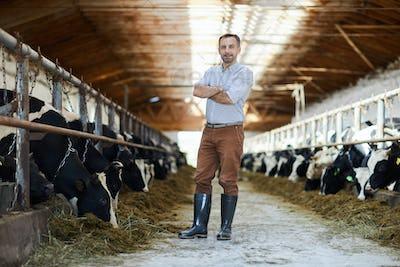 Worker of kettlefarm