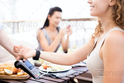 Paying for lunch