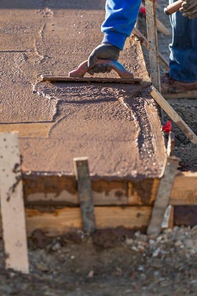 Cement Construction Installation